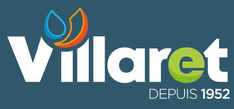 Nouvelle Identité Visuelle Logo Villaret Plomberie Chauffage Climatisation